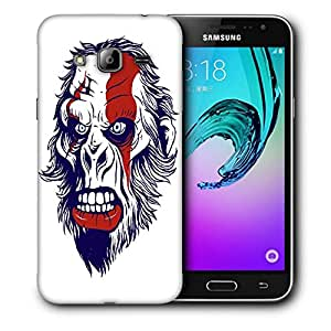 Snoogg Monkey Man Designer Protective Back Case Cover For SAMSUNG GALAXY J3/J3 2016 J310
