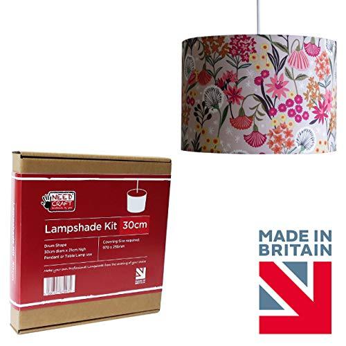 Bausatz zur Dekoration mit Lampenschirm Durchmesser 30cm zum Hängen oder für die Stehlampe