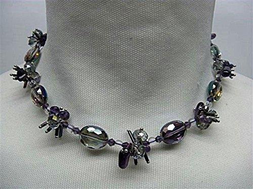 Natural Mente - Amethyst,Modeschmuck ,Halskette,ca. 45 cm, Naturstein, Halsband, Kette, Amethyst, Nr.1017