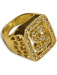 WIDMANN 2112P – Anillo dorado con brillantes y símbolo del ...