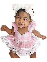 Jimmackey Bebé Niño Niño Traje de Niño Vestido de Princesa y Cinta de Verano