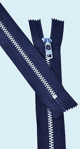 Slide-lock-reissverschluss ('11Hose Reißverschluss Alu ~ Talon # 4,5mit Slide Lock Tweezer-264Scout blau (3Reißverschlüsse/Paket))