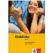 Einblicke Chemie. Lehrerband-CD-ROM 8.-10.Schuljahr. Ausgabe für Hessen: Mit Kopiervorlagen