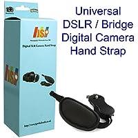JSP Correa de mano de piel con agarradera para cámara DSLR / Bridge Cámara Canon Nikon Fuji Cámaras digitales