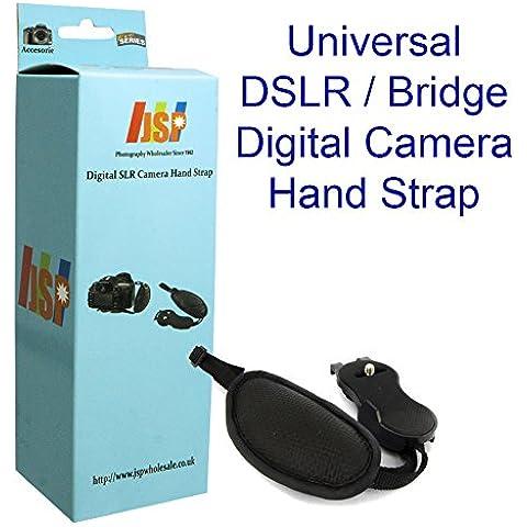 JSP cuero muñeca correa mano agarre para cámaras réflex digitales/cámaras Bridge Canon Sony Nikon fuji cámaras