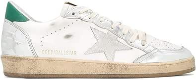 Golden Goose Luxury Fashion Uomo GMF00117F00062980185 Bianco Pelle Sneakers | Autunno-Inverno 20