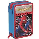 Trade shop traesio Etui Complet 3Zip Spiderman, accessoriato Enfants école