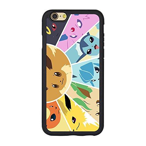 Coque Iphone 6S Pokemon, Pokemon Coque pour iPhone 66S 11,9cm Coque en TPU