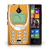 KOBALT® Hülle Case für Nokia X2 Dual Sim | Oranges Nokia 3310 Entwurf | Vintage Handys Kollektion