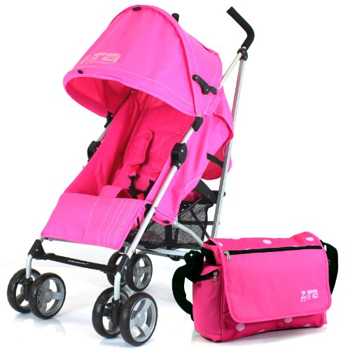 ZETA VOOOM – RASPBERRY + CHANGING BAG (Includes Changing Mat) + Complete With Raincover From Birth 512tItHCUyL
