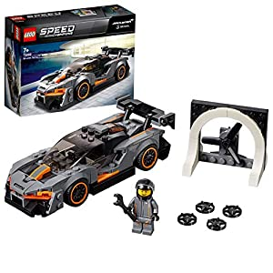 LEGO SpeedChampions McLarenSenna, Set da Costruzione di Macchine da Corsa con Minifigura del Pilota,Modello Forza Horizon 4, 75892  LEGO