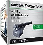 Rameder Komplettsatz, Dachträger SquareBar für OPEL VIVARO A Kasten (116376-04757-5)