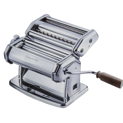 Imperia Sp150 Maquina Pasta Manual, Plata, 20.3 X 18.3 X 15.7 Cm