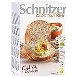 Schnitzer Chia-Quinoa-Brot zum Aufbacken, glutenfrei (500 g) - Bio