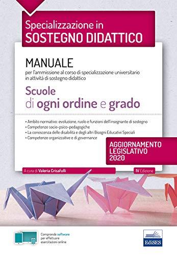 La specializzazione in Sostegno Didattico -