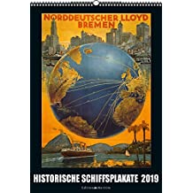 Historische Schiffsplakate 2019