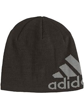 adidas, Cappello con logo Uomo, Nero (Black), XS