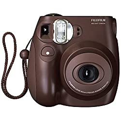 Fujifilm Instax Mini 7s Instax Film Camera (Choco)