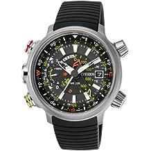 Citizen Watch BN4020-05E - Reloj analógico de cuarzo para hombre, correa de poliuretano color negro