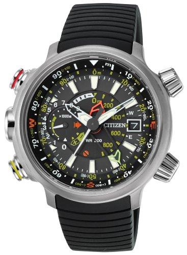 Citizen Watch BN4020-05E – Reloj analógico de cuarzo para hombre, correa de poliuretano color negro