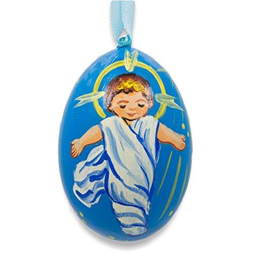 7,6cm Gesù il neonato King Natività ornamento di Natale in (Glass Natività Di Natale Set)