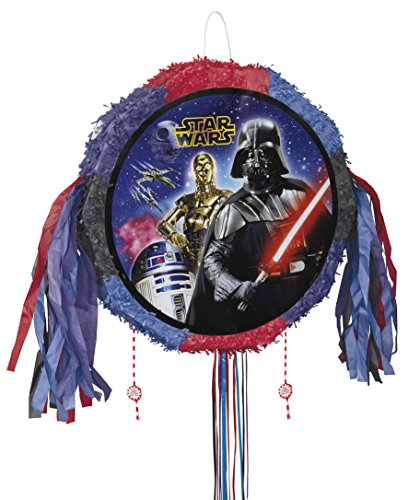 Star Wars Pinata, Pull String (Vader Darth Wars Schiff Star)