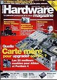 HARDWARE MAGAZINE [No 3] du 01/02/2003 - 4 MEGA COMPARATIFS - QUELLE CARTE MERE POUR UOGRADER SON PC - WEBCAMS - APPAREIL PHOTO MEGAPIXELS- ENCEINTES HOME CINEMA.