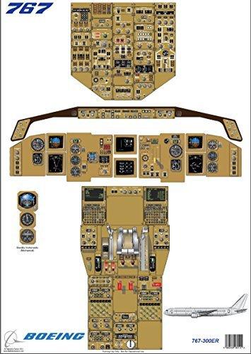 boeing-767-300er-cockpit-formazione-diagramma-digitale