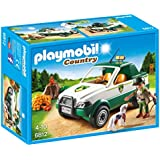 Playmobil Vida en el Bosque - Guardabosque con Pick up (6812)