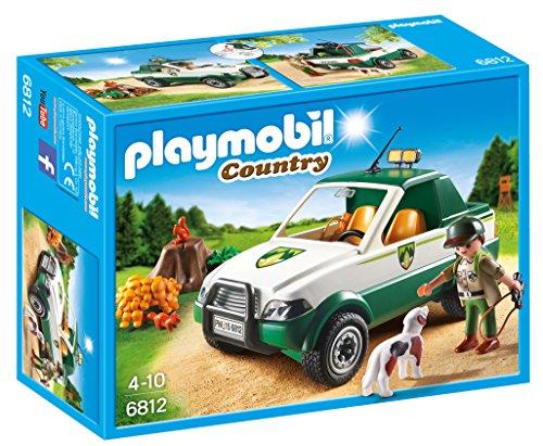 Playmobil Vida en el Bosque Guardabosque con Pick up (6812)