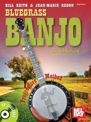 Bluegrass Banjo in Tablature: Progressive Method by Bill Keith & Jean-Marie Redon (2001-01-01)