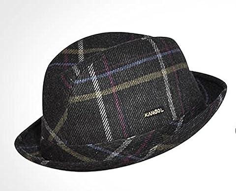 Kangol Classic Tweed Player Fedora Hat - Killington Tweed (Large)
