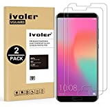 [Lot de 2] Verre Trempé Huawei Honor View 10 [Garantie à Vie], iVoler Film Protection en Verre trempé écran Protecteur - ANTI RAYURES - SANS BULLES D'AIR -Ultra Résistant Dureté 9H Glass Screen Protector pour Huawei Honor View 10