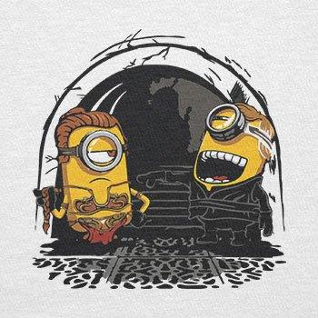 TEXLAB - Banana Twins - Herren T-Shirt Weiß