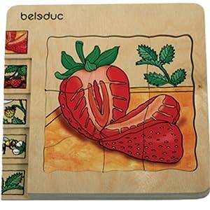 Beleduc - Puzzle de Madera de 145 Piezas (BEL17040) Importado