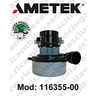 Aspiration 116355–00Ametek Motor for Floor Mop and Vacuum Cleaner