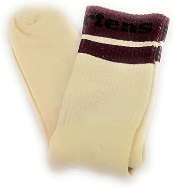 Women's Shoes Dr. Martens Logo White Athletic Socks FW 19-20