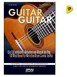 Guitar Guitar-Les 100plus belles Mélodies de classique à Pop-Facile à moyen arrangés-Note livre avec Dunlop plek
