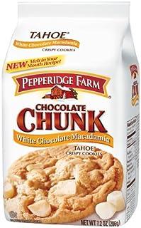 Pepperidge Farm Tahoe Crispy White Chocolate and Macadamia Nut Cookies 206 g (Pack of 4) (B003UVCZK4) | Amazon price tracker / tracking, Amazon price history charts, Amazon price watches, Amazon price drop alerts