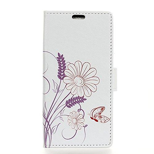 COVO® PU+TPU Kunstleder Brieftasche Hülle für Vodafone Smart N8 mit Stand Funktion (No:3)