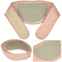 Smallwise Trading Selbst Heizung Neck Wrap Wärme Health-Klammer-Stütz Strap Schmerzlinderung (Beige) preisvergleich bei billige-tabletten.eu