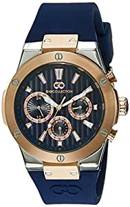 Gio Collection Analog Blue Dial Men's Watch - G1010-02