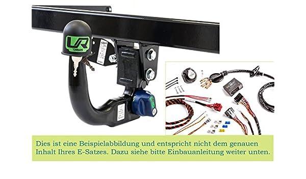 UT290COR49ZVMM//WS21500599DE1 UmbraRimorchi Vertikal Anh/ängerkupplung mit abnehmbarem Kugelkopf mit 13p Spezif ESatz f/ür Peugeot 2008 SUV 2013