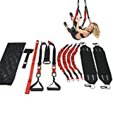 Grist CC Sangle De Suspension Sangle Fitness Kit pour Yoga Musculation Entraînement Stretch chez Home Gym