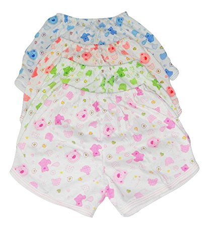 Baby Joy- Printed Boys drawer/panties/ Nappies/Bloomer- (1-2 years),Pack of 4, Multicolor.