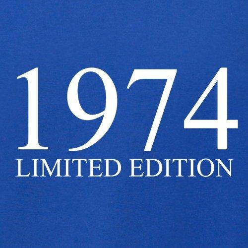 1974 Limierte Auflage / Limited Edition - 43. Geburtstag - Herren T-Shirt - 13 Farben Royalblau