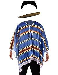 Kostüm Mexikanischer Bandit - für Herren