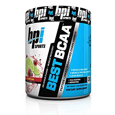 BPI Sports Best BCAA Powder, Cherry Lime, 10.58 Ounce from BPI Sports