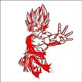 guijiumai Pegatina Dragon Ball Aufkleber Anime Cartoon Auto Aufkleber Aufkleber Vinyl Wandaufkleber Dekor Dekoration 1 92x126 cm