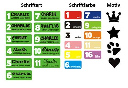 Hundehalsband mit Name (45-50cm) - 3